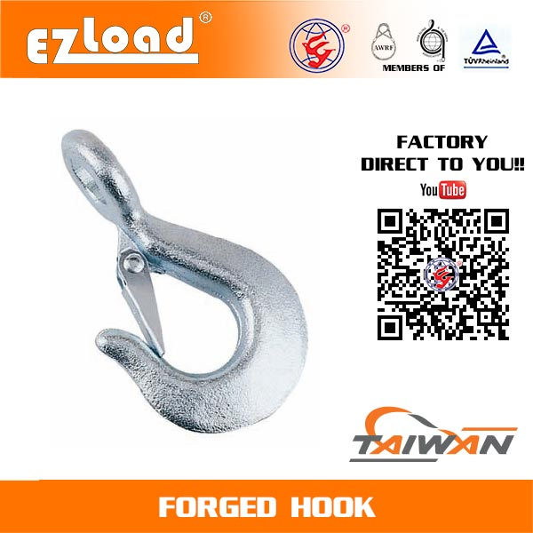 Forged 90 Eye Twisted Hook