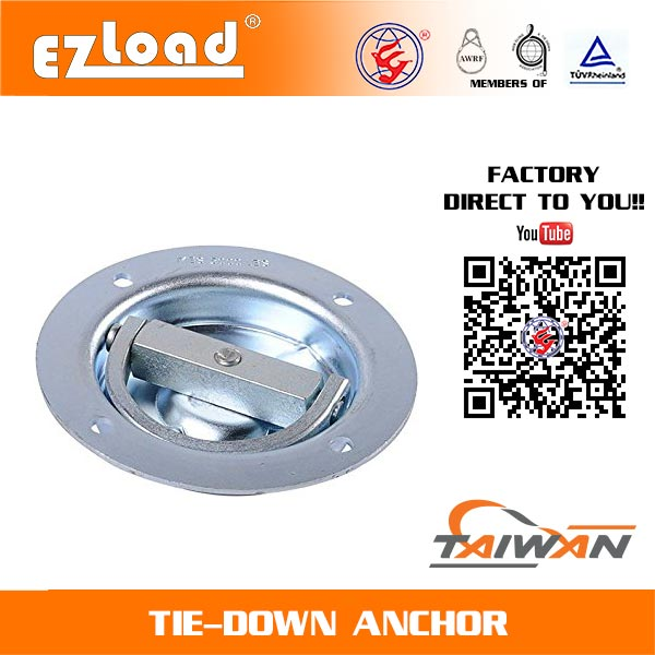 Rotating Recessed D Ring Anchor