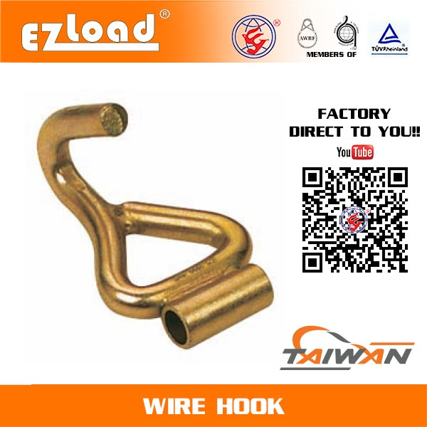 1-1/2 inch J Hook with Welded Tube