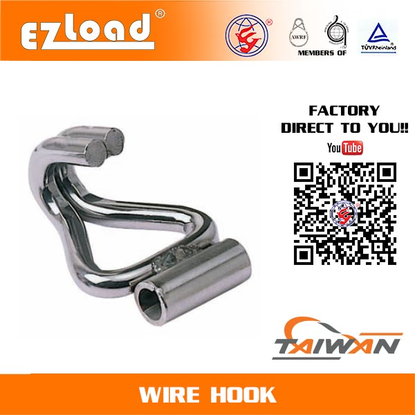 2 inch Double J Hook with Welded Tube