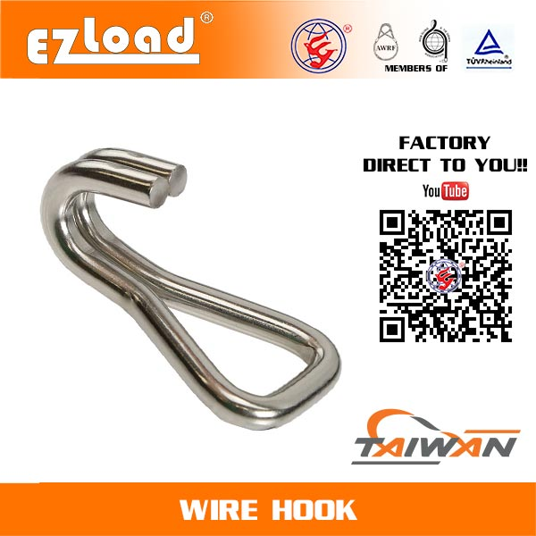 1 inch Double J Hook Stainless Steel