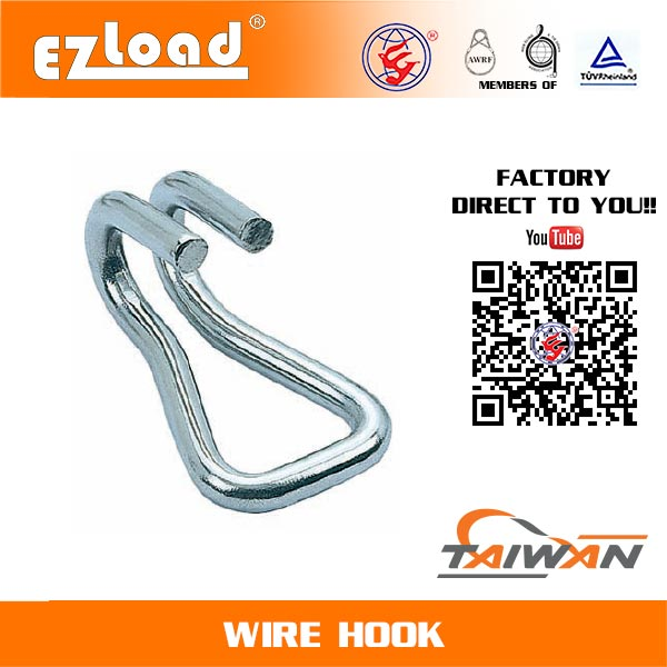 15/16 inch Double J Hook Stainless Steel
