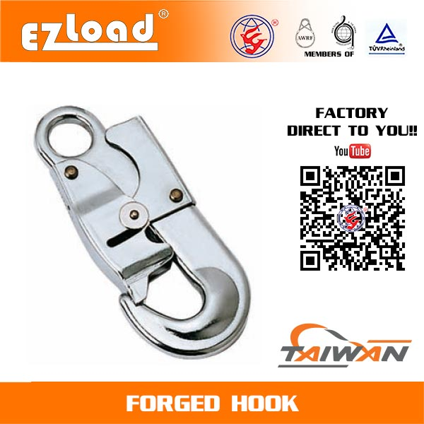 Double Security Lanyard Forged Hook