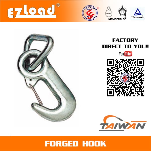 3/4 inch Forged Hook with 1-5/16 inch Triangle