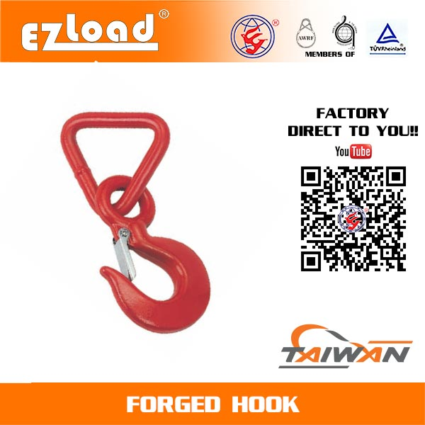 3 inch Triangle Forged Hook