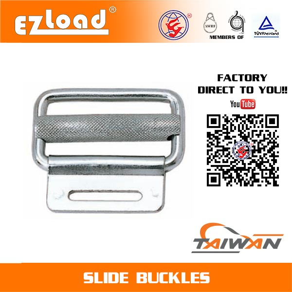 2 inch Slide Buckle with Sheet Metal
