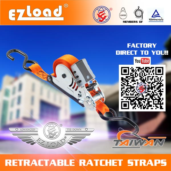 retractable ratchet tie down straps tie downs