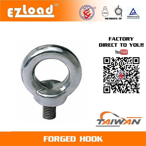 Din Forged Eye Bolt in Stainless Steel