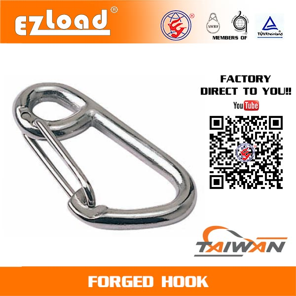 Spring Hook Stainless Steel
