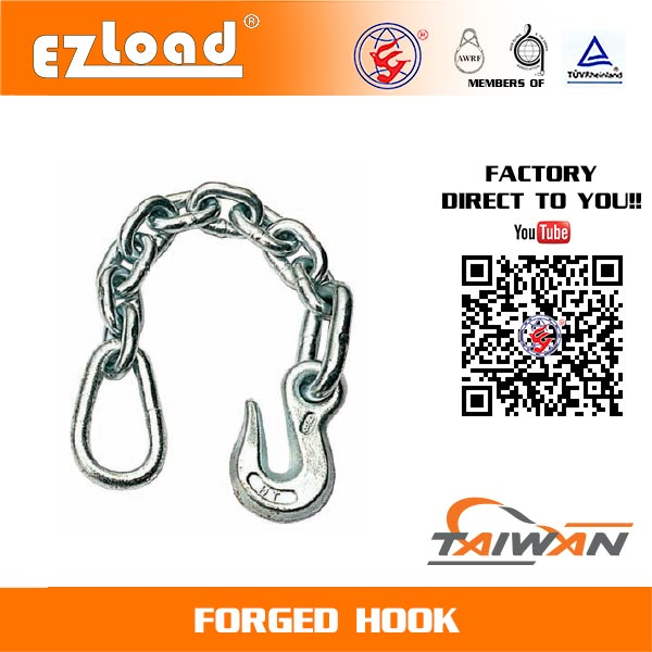 18 inch Chain Anchor with Pear Ring