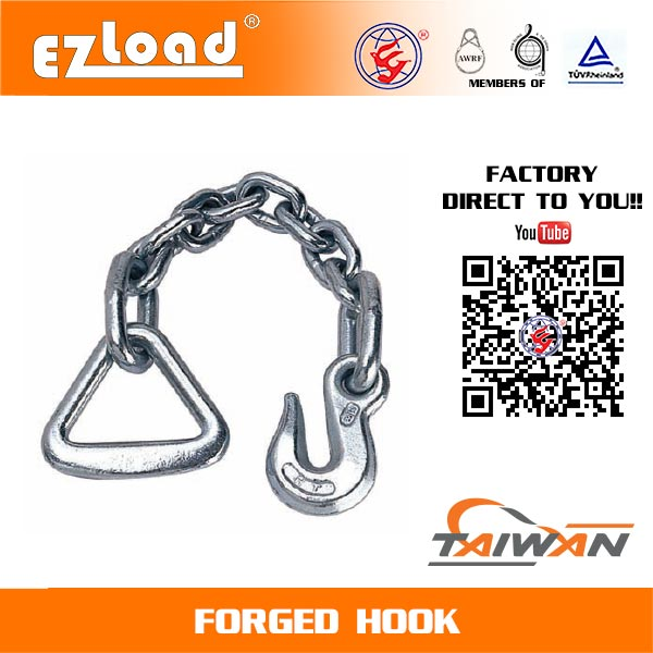 18 inch Chain Anchor with 3 inch Delta Ring