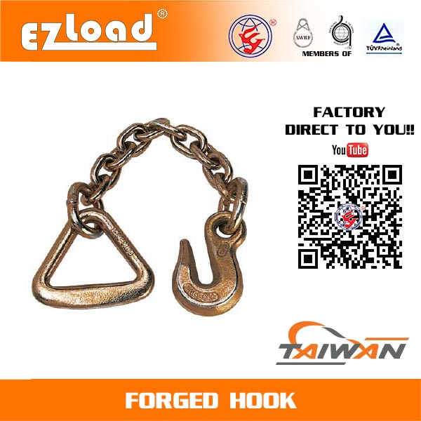 18 inch Chain Anchor with 4 inch Delta Ring