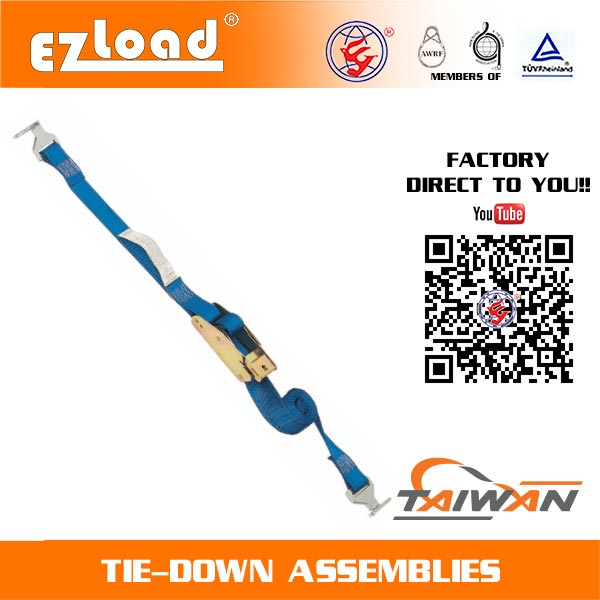 1-3/4 inch Lashing Strap with End Fitting