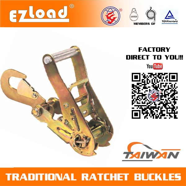 2 inch Medium Handle with Hook Ratchet Buckle