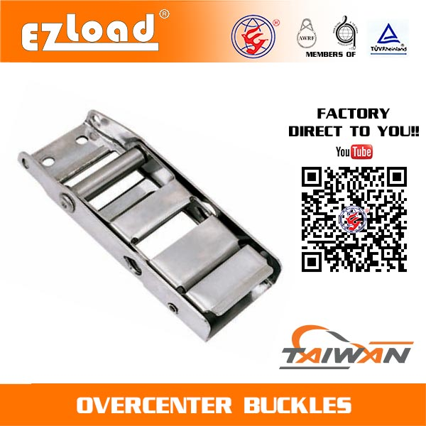 2 inch 304 Stainless Steel Overcenter Buckle