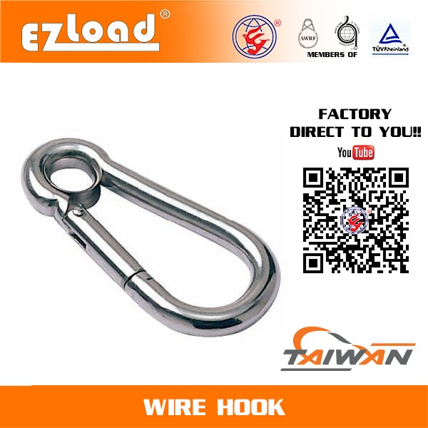 Snap hook with Grommet