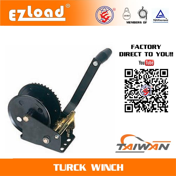 Single Ratchet Wheel Hand Winch
