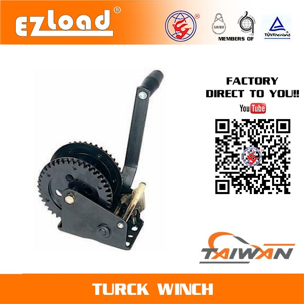 Single Ratchet Wheel Heavy Duty Hand Winch