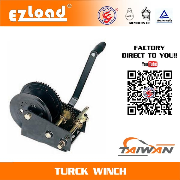 Single Ratchet Hand Wheel Heavy Duty Hand Winch